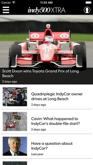 IndyStar Indy500 XTRA