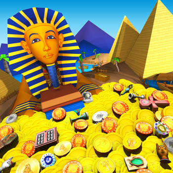 Pharaoh's Coins - Gold Pharoh Ancient Token Dozer 遊戲 App LOGO-APP試玩