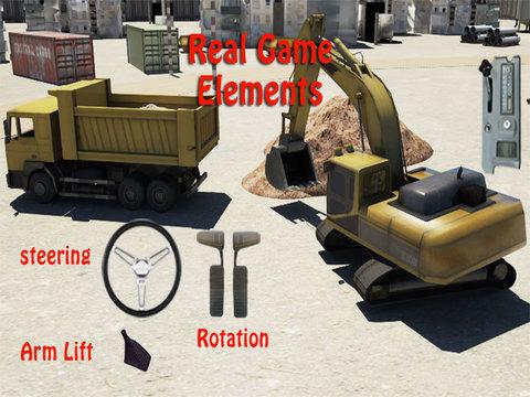 Real Excavator Simulator Excavator Simulator 3d Drive