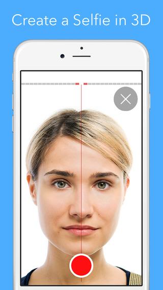 3DSelfie - 3D 自拍[iOS]丨反斗限免