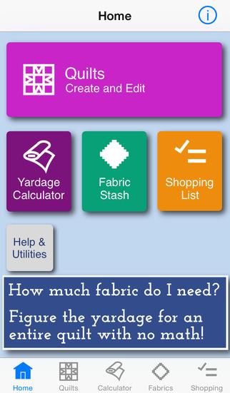 QuiltSandwich : Fabric Calculator
