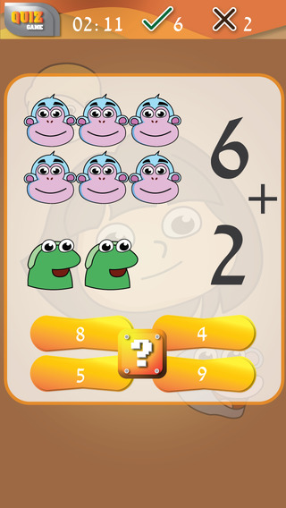 Addition and Subtraction for Dora - Math Quiz with Friends