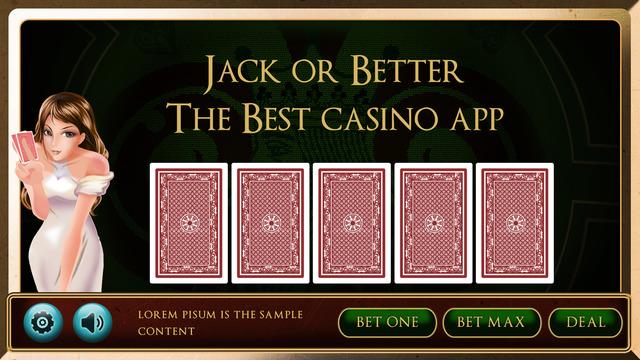 Casino Jack or Better