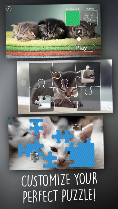 Jigsaw Wonder Kittens Puzzles for Kids screenshot 3
