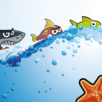 Hungry Shark Looking for Food - Ocean Edition LOGO-APP點子