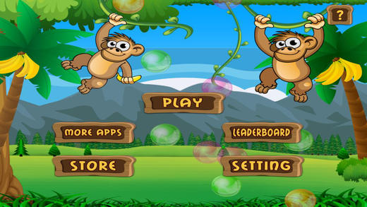 Monkey Balloon Battle - Super Speed Tapping Mania- Free