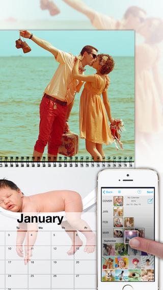 【免費購物App】PhotoCal™ - 创建个性照片日历, 可使用myvukee定制、打印、订购和发送-APP點子