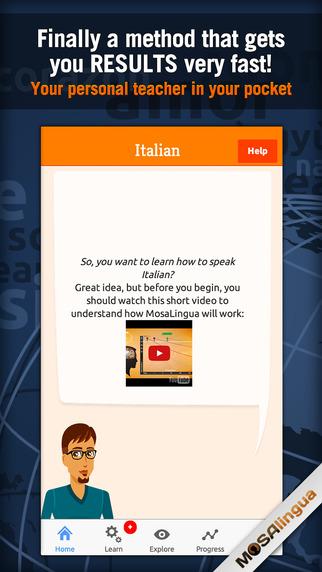 Learn Italian +