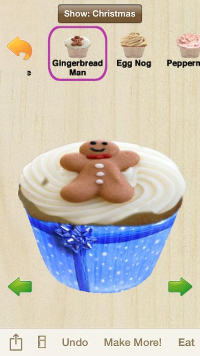 Cupcakes! Holiday Edition iPhone Screenshot 2