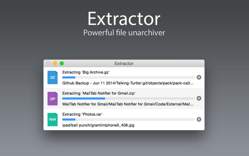 Extractor Screenshot - 1