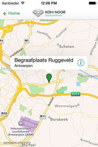 Rouwcentrum Ruggeveld screenshot 2