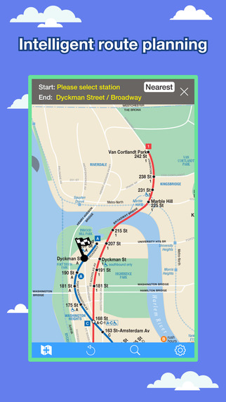 New York Transport Map - Subway Map and Route Planner Screenshots