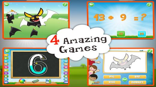 Preschool Educational Games - Puzzle Maths Tracing Quiz