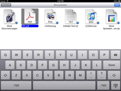 MobileStudio iPad Screenshot 2
