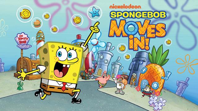 《进击的海绵宝宝 - SpongeBob Moves In [iOS]》