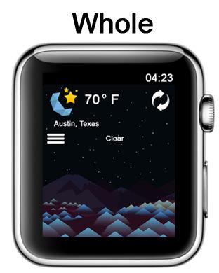 玩免費天氣APP|下載Shapely Weather - See Weather a Whole New Way! app不用錢|硬是要APP