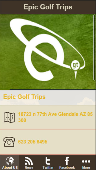 Epic Golf Trips