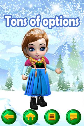 让我自己的小白雪公主游戏广告免费女孩