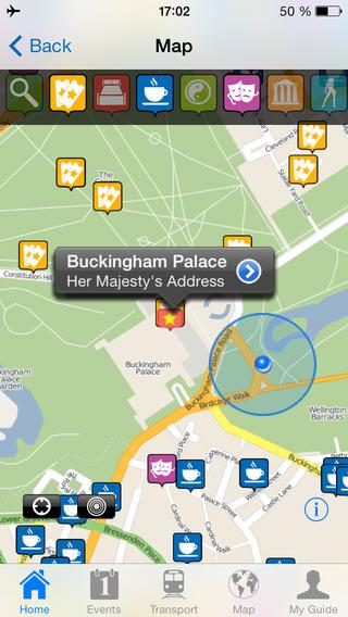 London Travel Guide Offline iPhone Screenshot 2