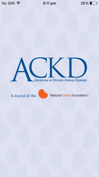 Advances in Chronic Kidney Disease