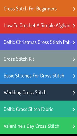 X Stitching Techniques