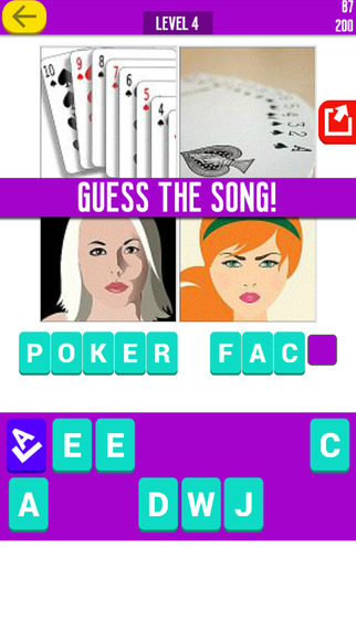 GUESS THE SONG - music quiz game