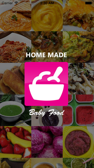 Baby Food Recipe App: A Guide for feeding Babies and Toddlers homemade first foods purees and solids