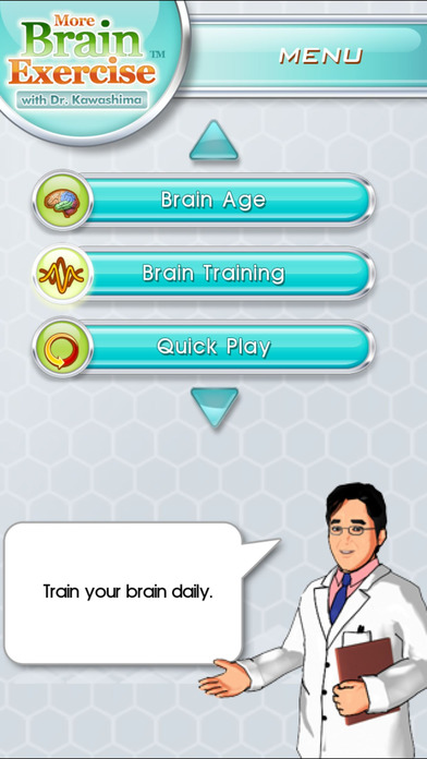 More Brain Exercise with Dr. Kawashima iPhone Screenshot 1