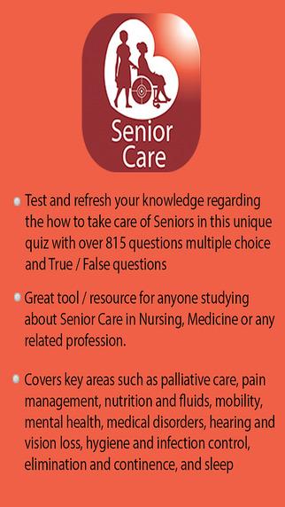 Learning Senior Care Quiz
