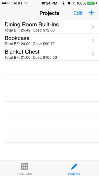 Board Feet Easy Calculator iPhone Screenshot 2