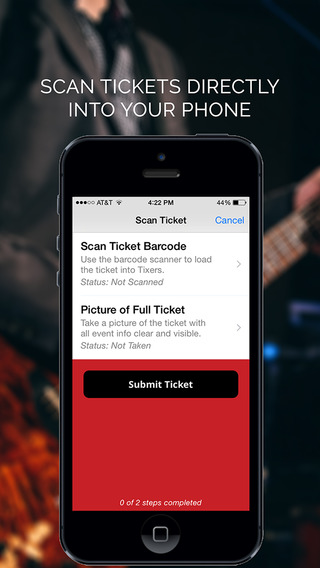 Tixers - Scan Share and Sell Tickets to Concert Festival and Sporting Events