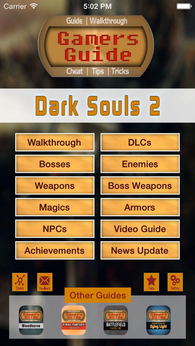dark souls game guide book