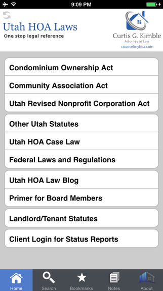 Utah HOA Laws