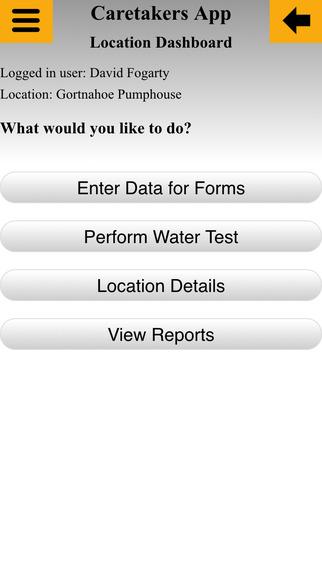 Caretakers App