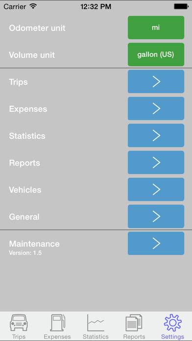Drivers Log iPhone Screenshot 5