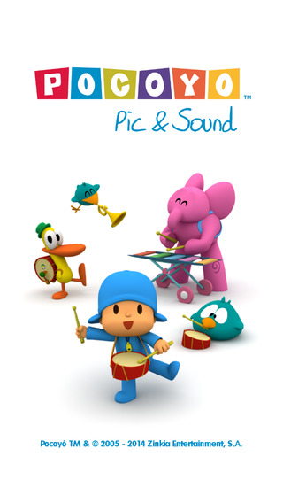 Pocoyo Pic and Sound Free