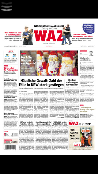 WAZ Zeitungskiosk E-Paper