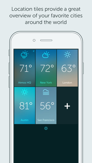 Atmos - Weather for your iPhone and Watch Screenshots