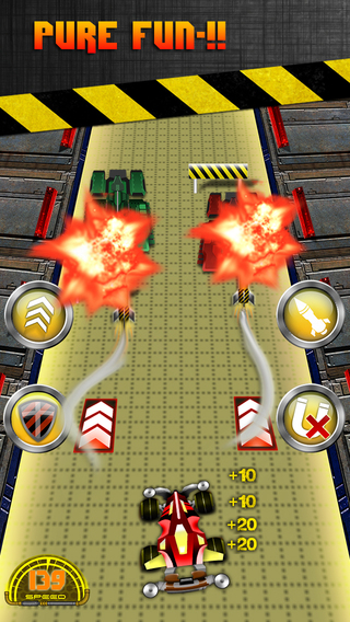 Armored Drag Twisted Battle Car Racers Rampage