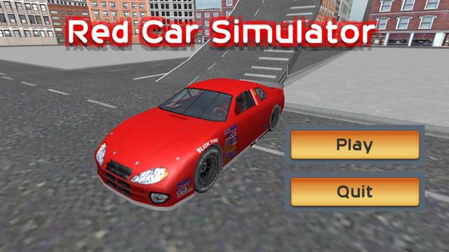 Red Car Simulator