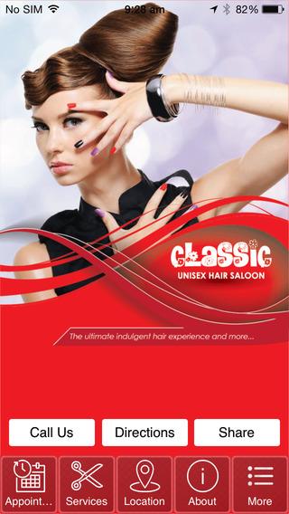 Classic Unisex Hairsaloon