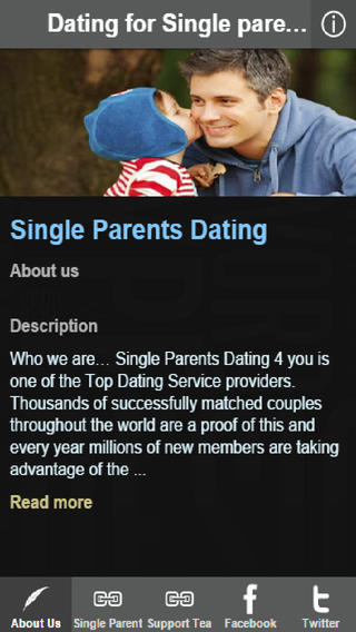 dating website for single parents Local single moms, free online dating website where single mothers can find love find sexy single mothers today in your local area profiles are 100% free and can be created in minutes.