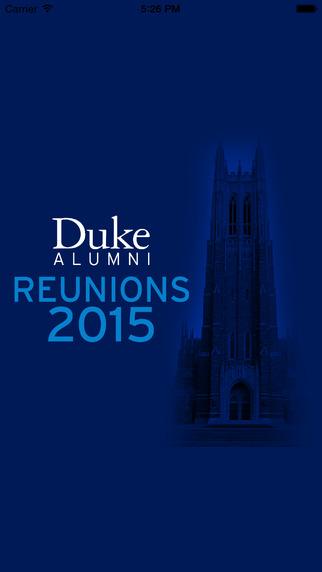 Duke Reunions 2015