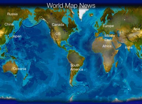 World Map News
