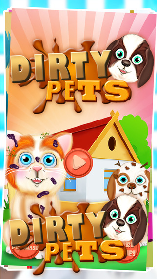 Dirty Pets Salon - Muddy Adventure Game with Messy Pets for Kids Teens Girls