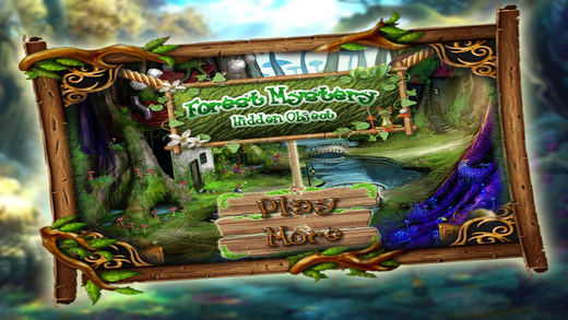 Forest Mystery Hidden Objects