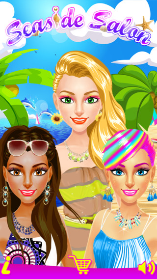 Seaside Fashion Salon - Beach Vacation Party