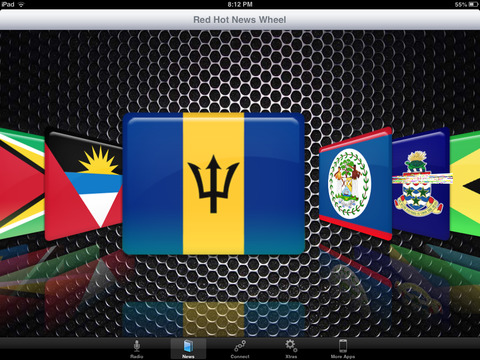 Reggae Spin Radio iPad Screenshot 1