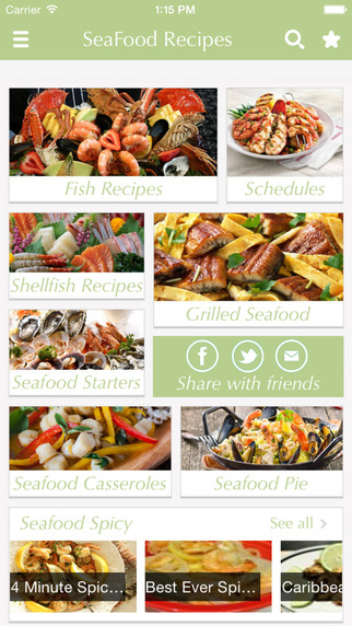 Seafood Recipes - share best cooking tips ideas on Facebook .