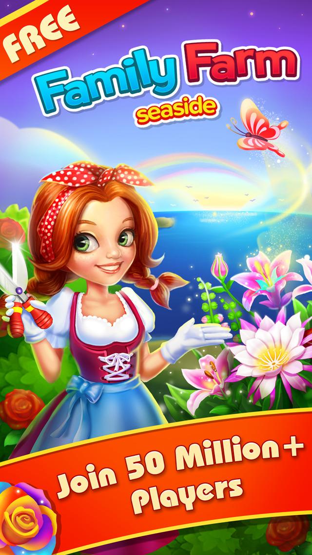 Family Farm Seaside - Play Farming & Harvest Game Online Free